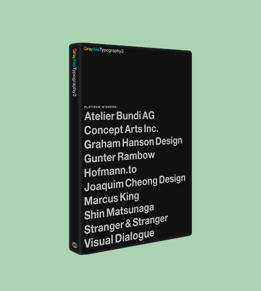 Featured in Typography 3 book