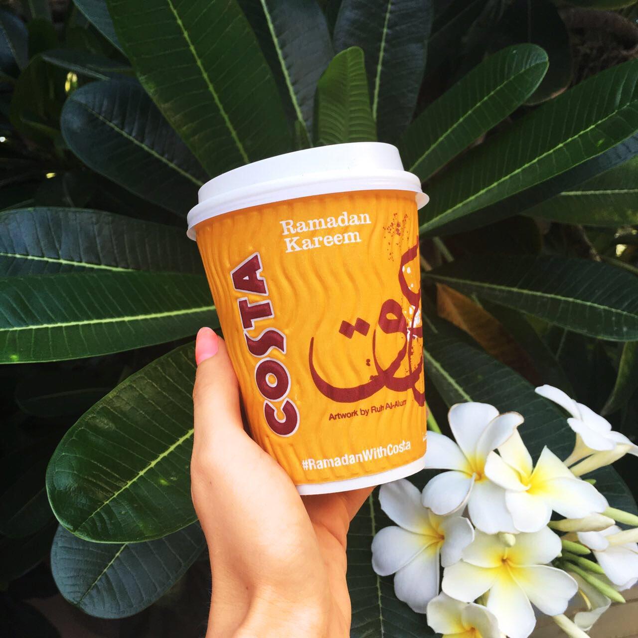 Costa Coffee Ramadan Cups